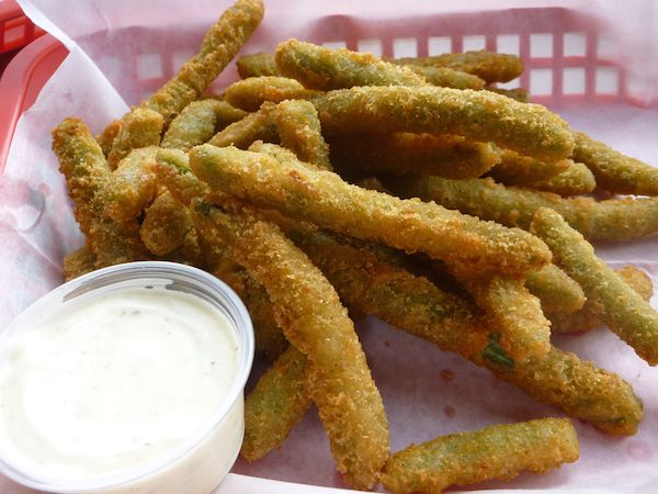 Battered Greenbeans Image