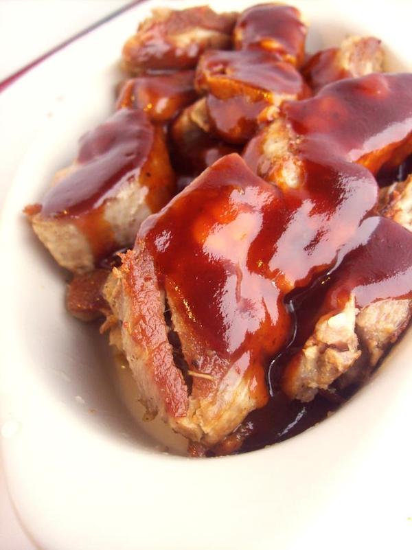 BBQ Rib Snack Dinner