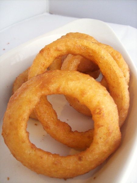 Beer Battered Onion Rings Image