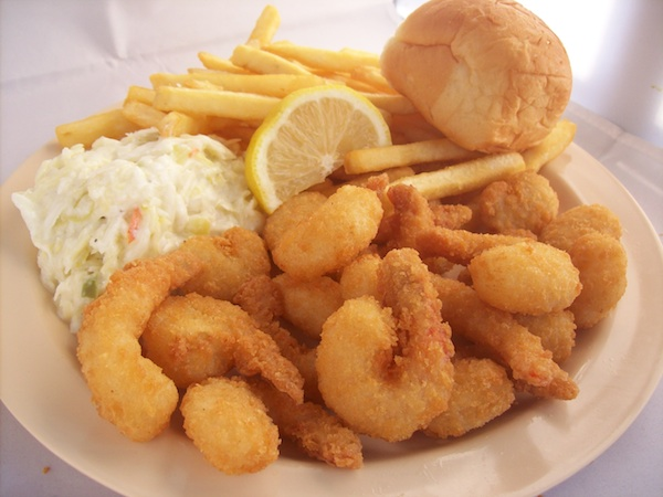 21 Piece Popcorn Shrimp Basket