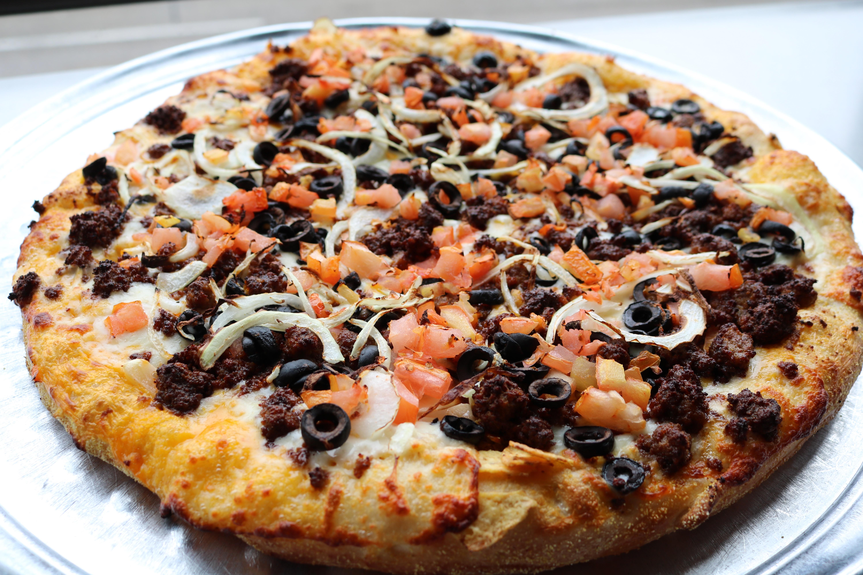 Nacho Works Pizza Image
