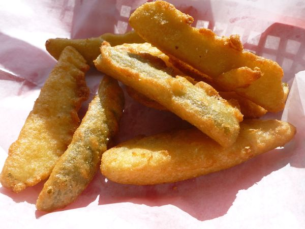 Spicy Deep Fried Pickles (8)