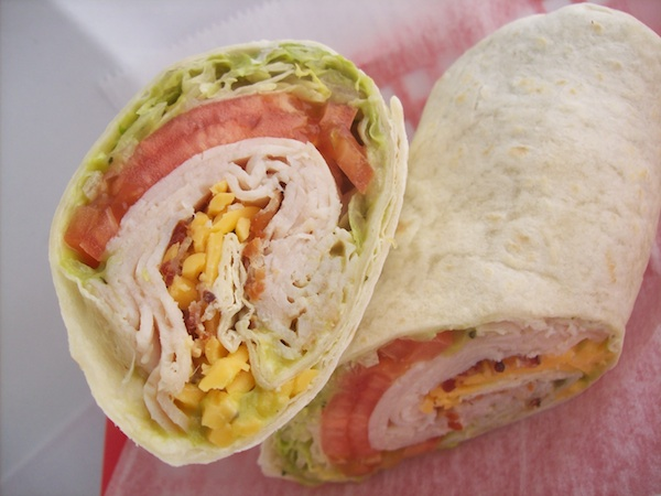 California Turkey and Bacon Tortilla Wrap Image