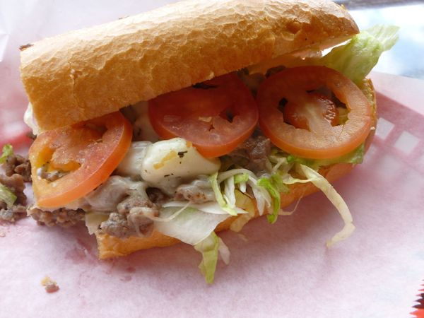 Traditional Steak & Cheese Sub Image
