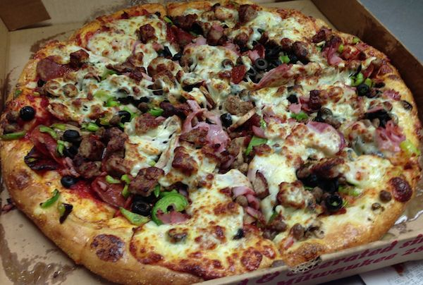 The Works Pizza Image