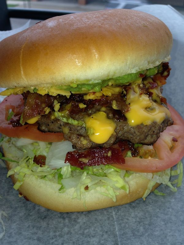 Bacon Ranch Burger Image