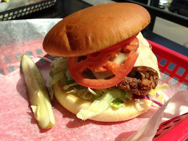 Bacon-N-Swiss Chicken Breast Sandwich Image