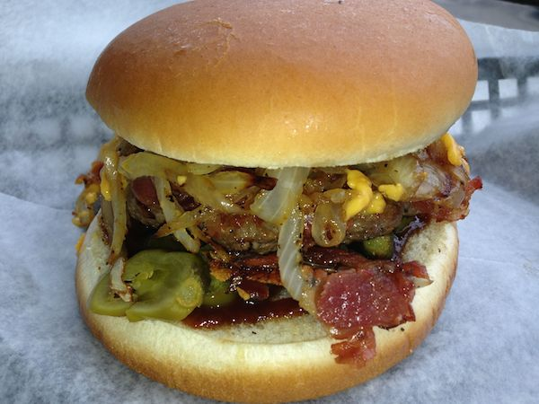 Barbeque Bacon Burger Image