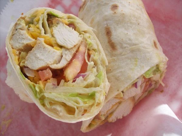 Southwestern Chicken Wrap Image