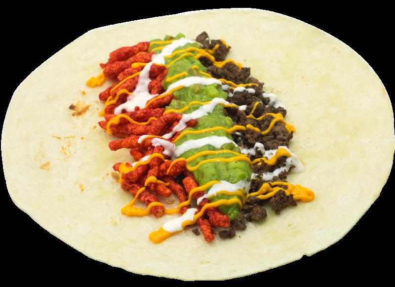 Flammin Hot Cheeto Burrito! Image