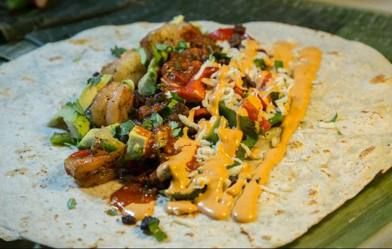 Steak & Shrimp Burrito Image