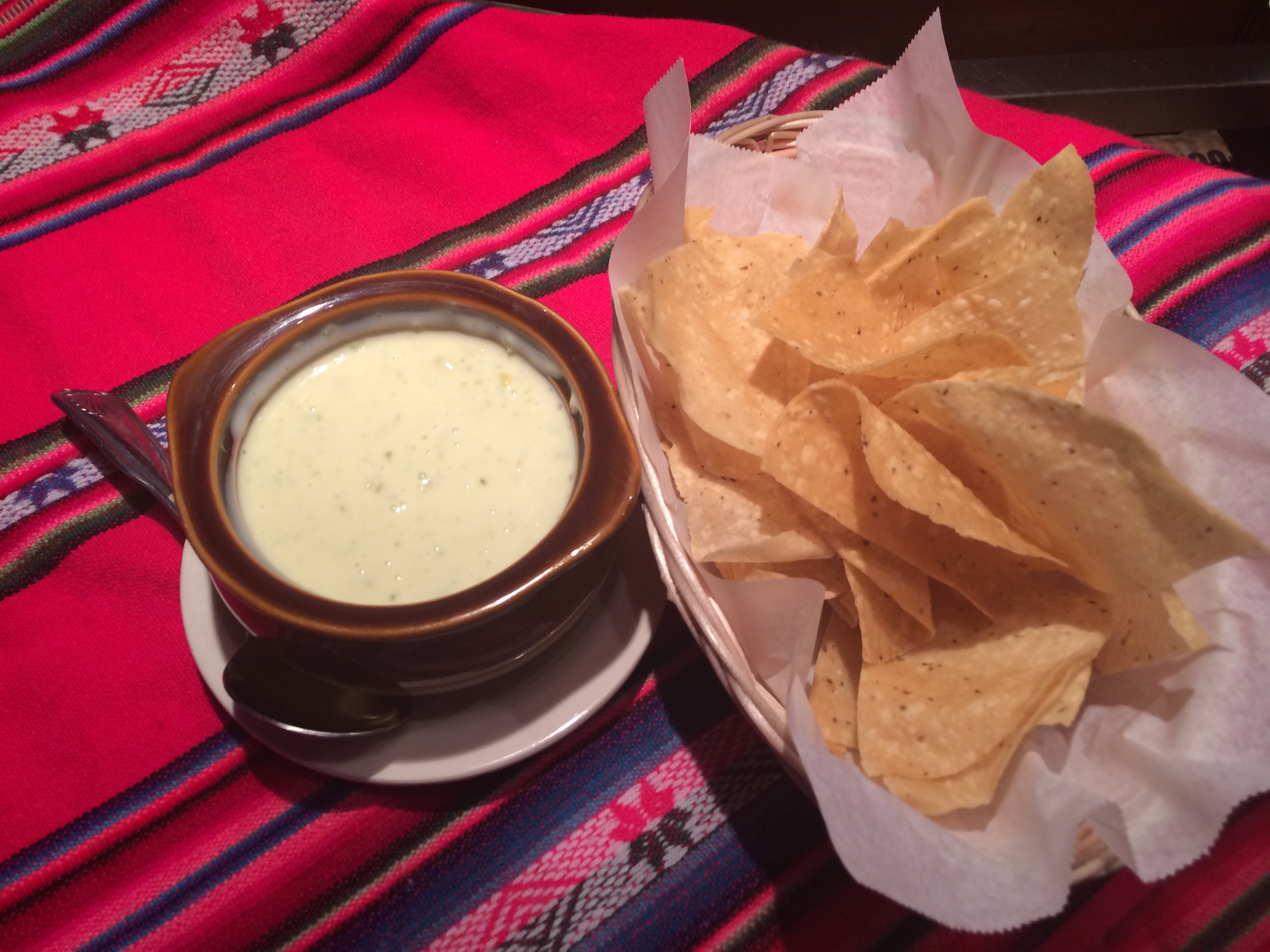 CHILE CON QUESO & CHIPS Image
