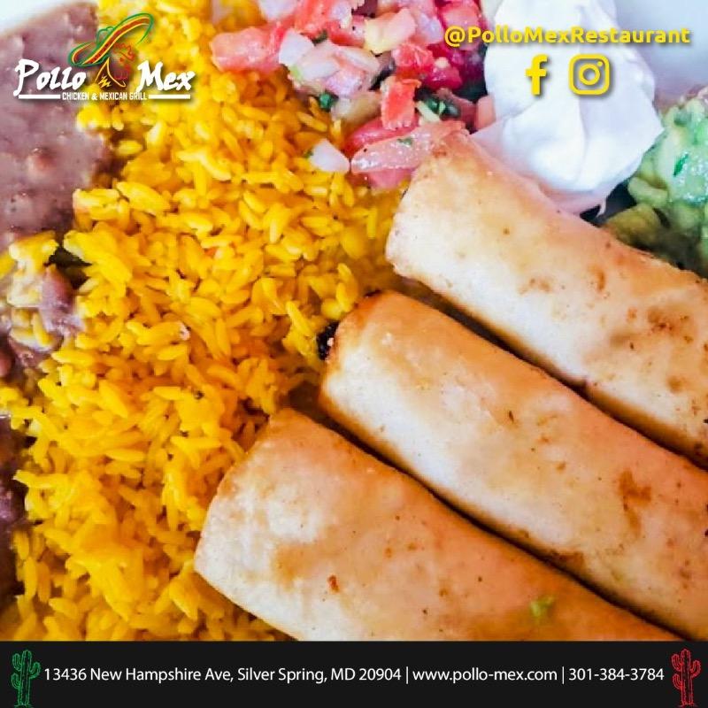 FLAUTAS POLLO-MEX Image