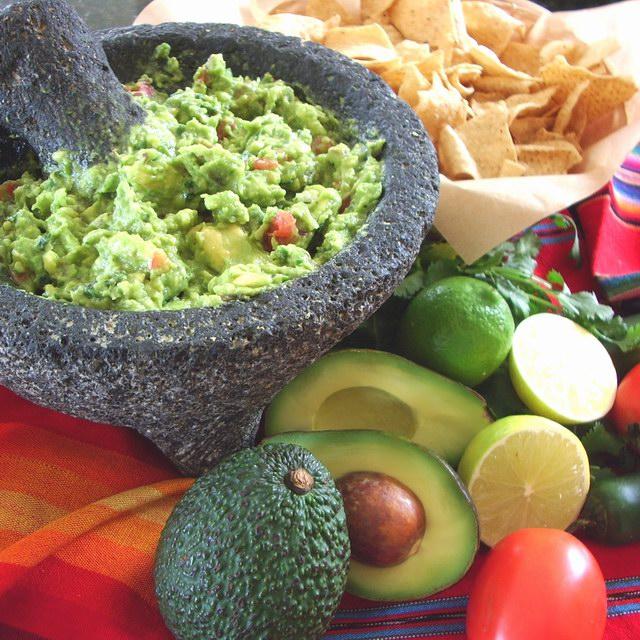 Guacamole Molcajete Image