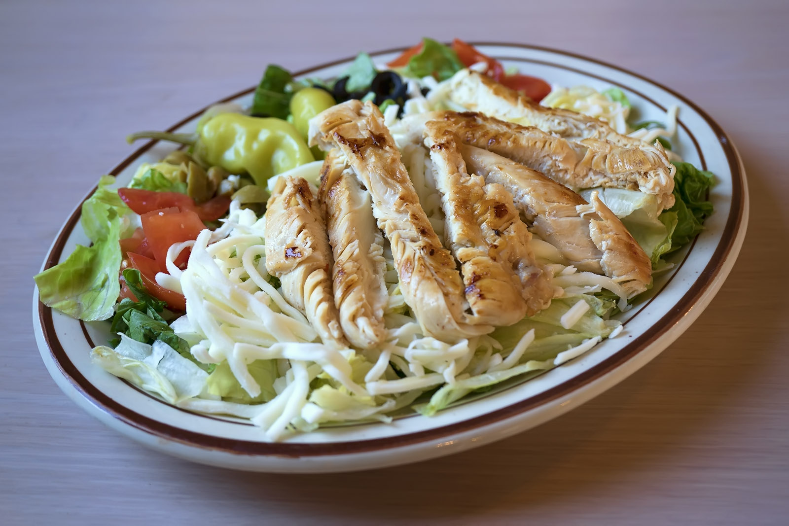 WEDNESDAY: Grilled Chicken Salad Image
