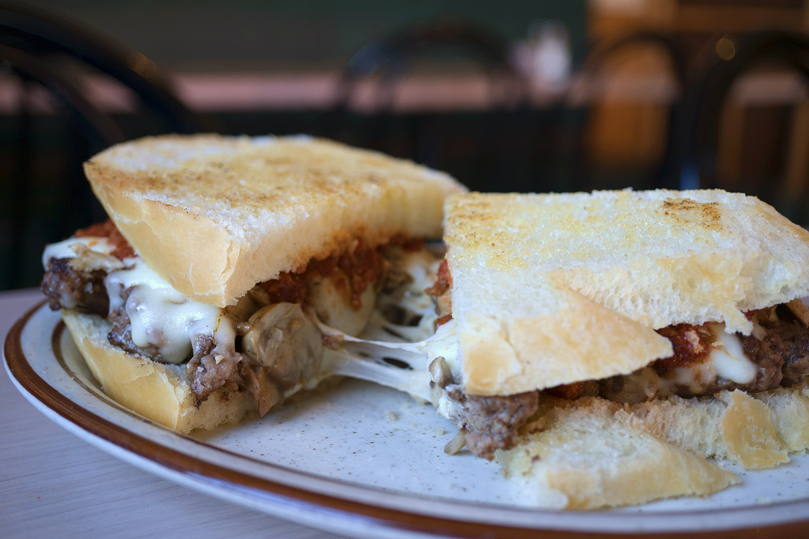 SATURDAY: Italian Steak Sandwich with Fries Image