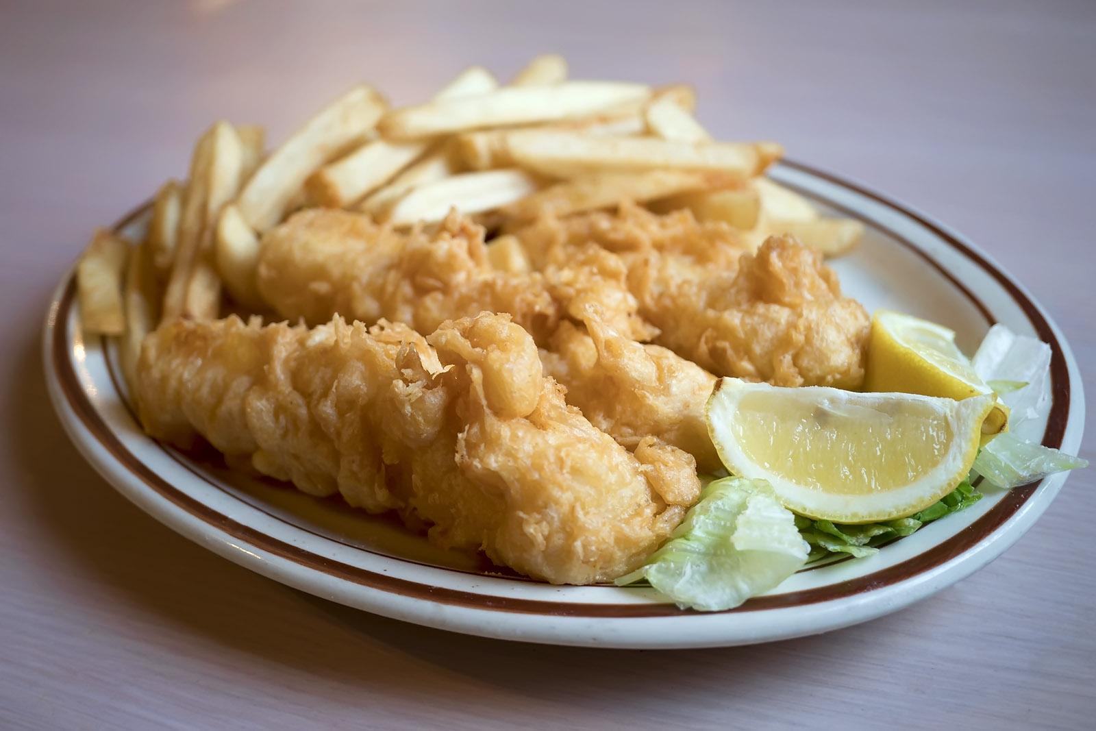 FRIDAY: 3pc Cod Dinner Image