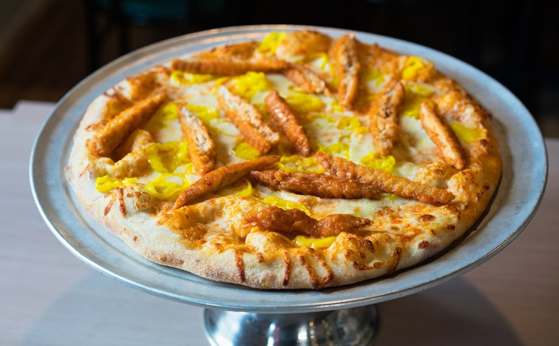 Buffalo Chicken Pizza Image