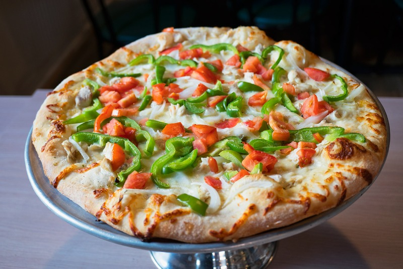 Chicken Supreme Pizza Image