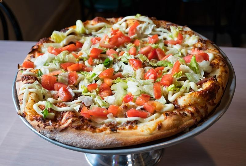 BLT Pizza Image