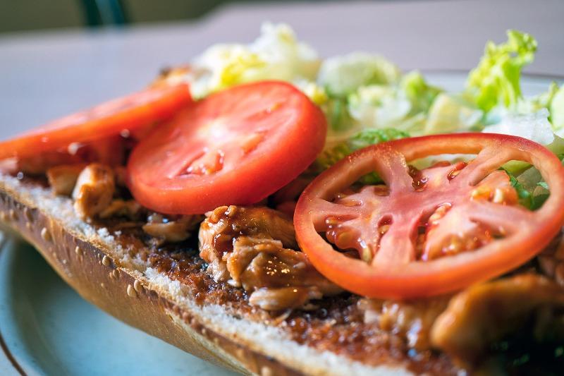 BBQ Chicken Grinder Image