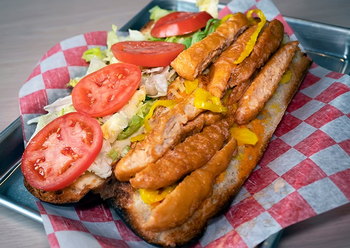 Buffalo Chicken Grinder Image