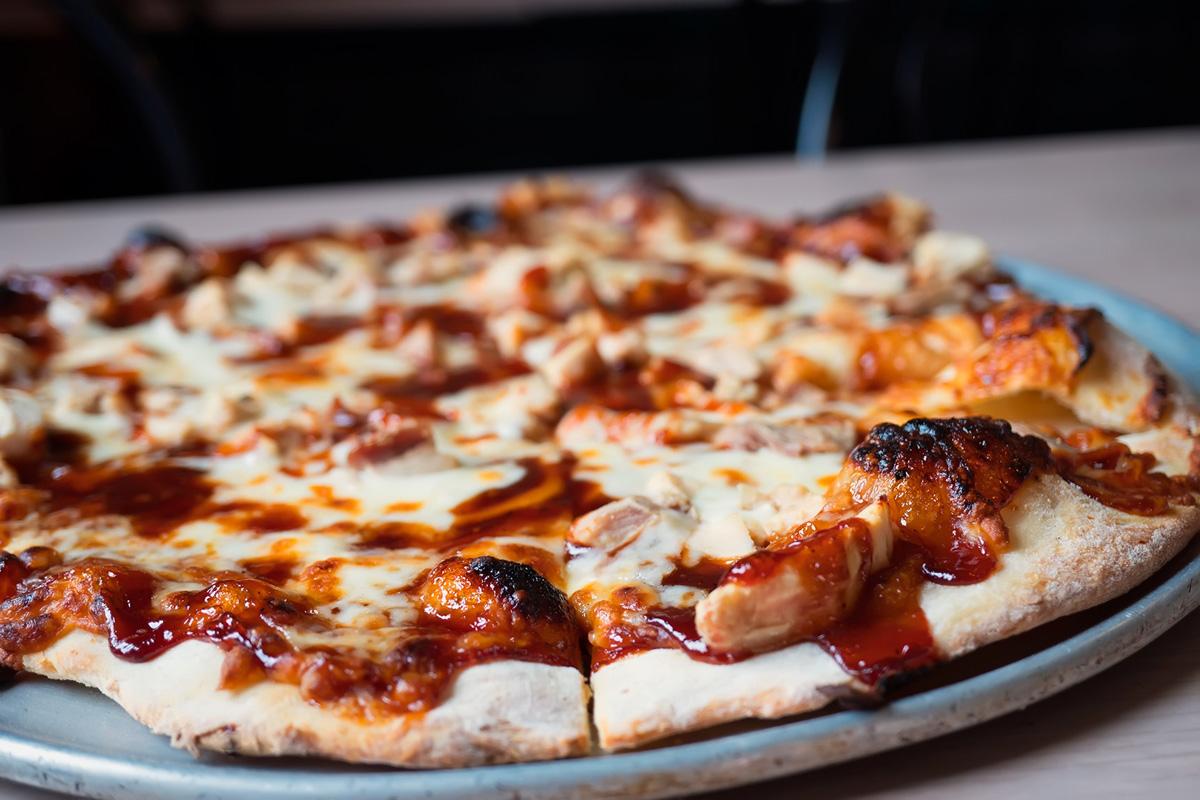BBQ Chicken Pizza Image