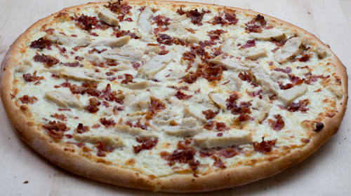 Chicken Ranch Pizza Image