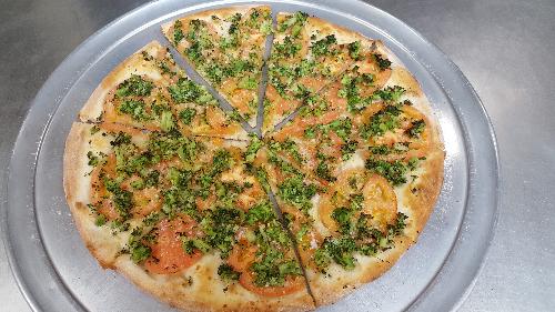 Broccoli Special Pizza Image