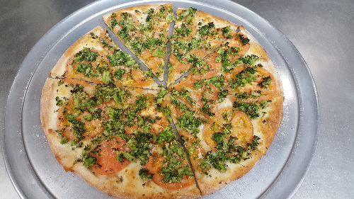 Broccoli Special Pizza Image