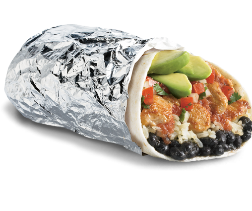 Grilled Chicken Burrito Image