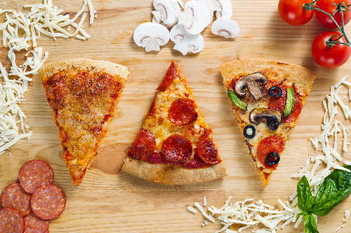 Build Your Own Pizza - Pickup Image