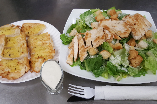 Caesar Salad with Grilled Chicken Image
