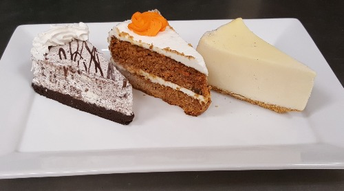 3 Cake Slices Image