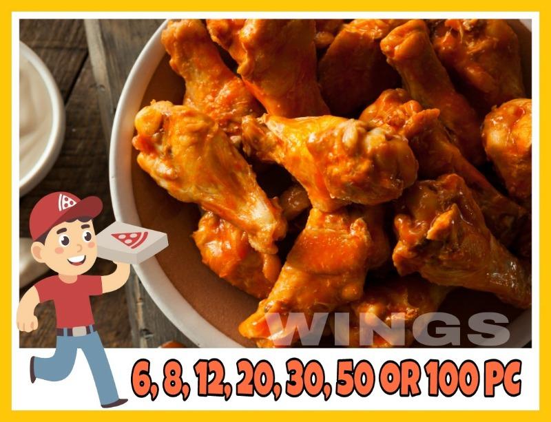 Buffalo wings (non-breaded) Image