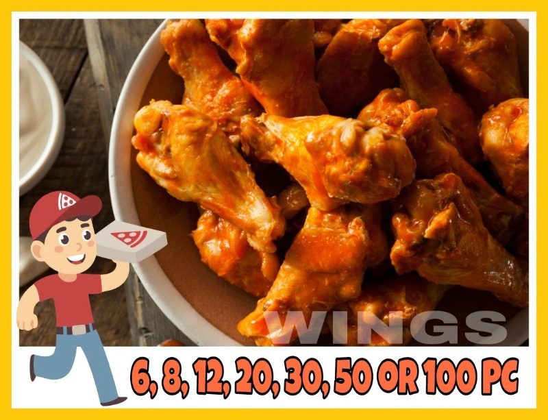 Buffalo wings (non-breaded) Image