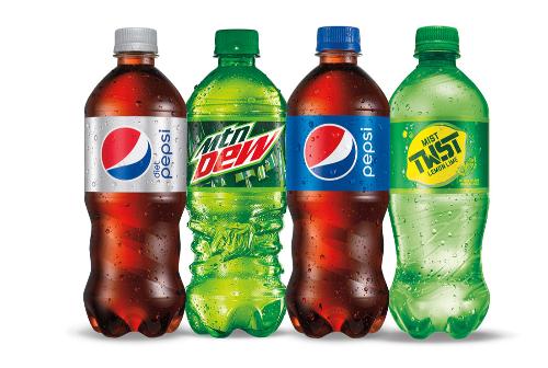 20 oz Bottle Soda Image
