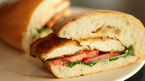 Chicken Cutlet Sub Image