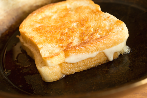 Grilled Cheese Sandwich Image