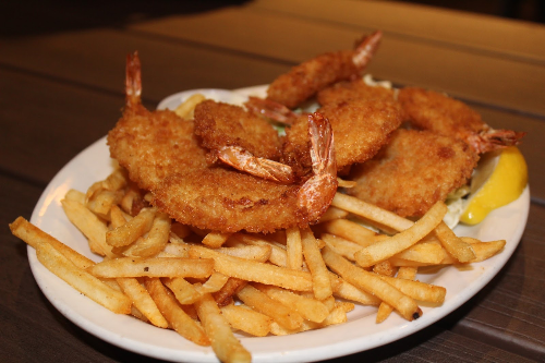 Fried Shrimp Platter Image