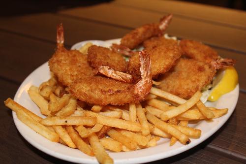 Fried Shrimp Platter Image