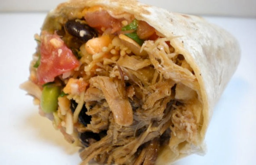 Pulled Pork Burrito Image