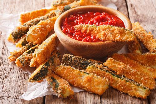 Fried Zucchini Image