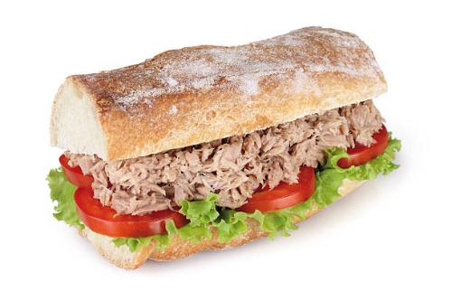 Tuna & Cheese Sub Image