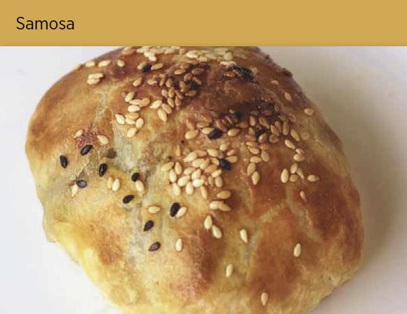 烤包子 Samosa