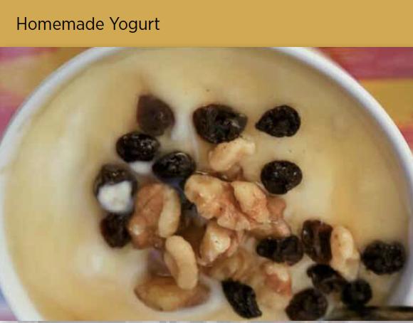 酸奶 Homemade Yogurt