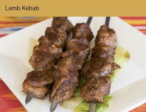 羊肉串 Lamb Kebab (3)