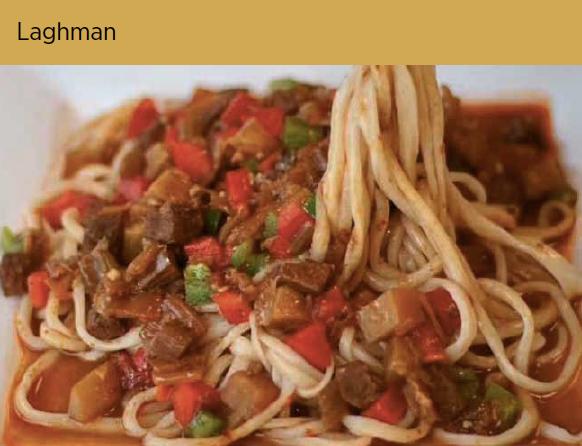 过油肉拌面 Laghman