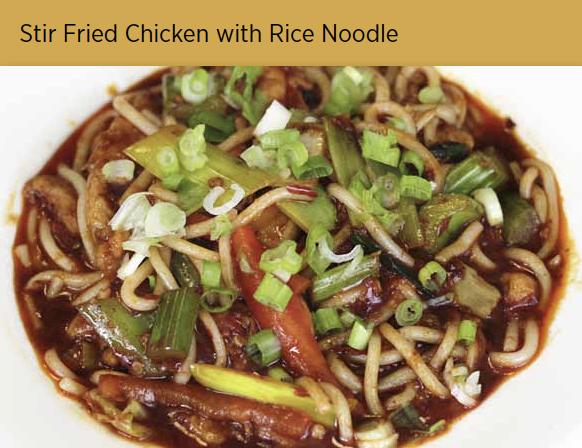 鸡肉炒米粉 Chicken Rice Noodle