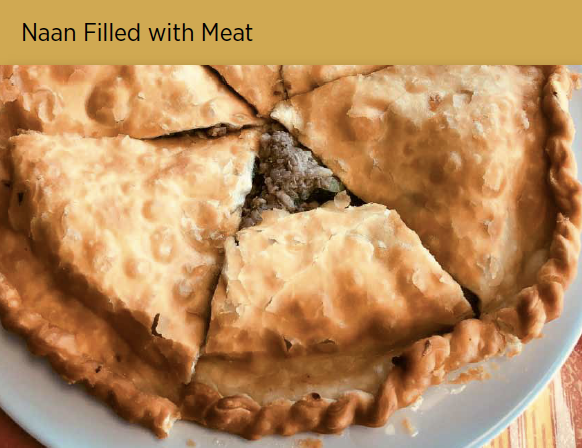 肉馕 Naan Filled w. Meat Image